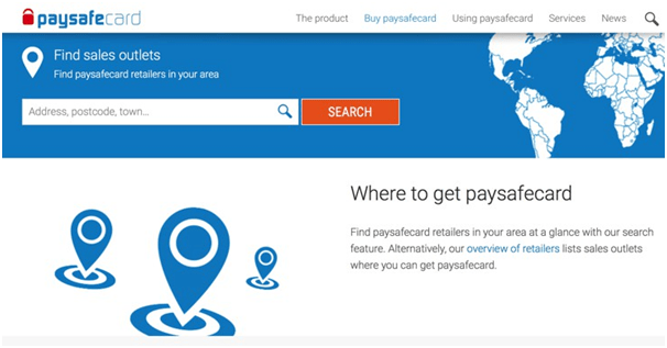 Paysafecard- Where to get it