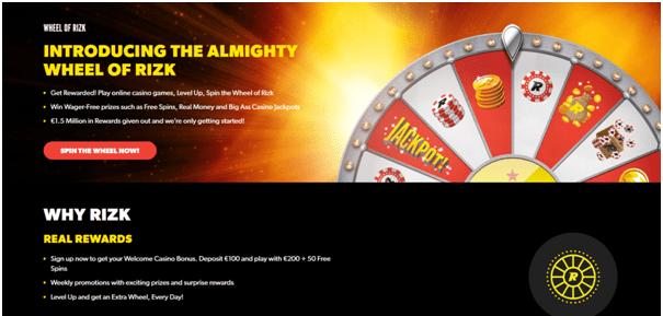 Rizk casino races en sporten