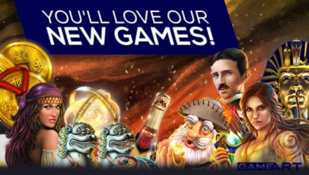 gameart online gokkast nederland