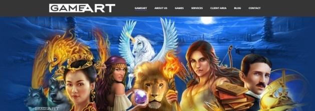 gameart online gokkast