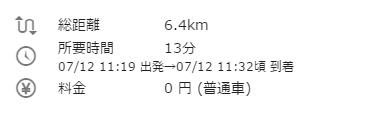 木更津駅から友理 所要時間