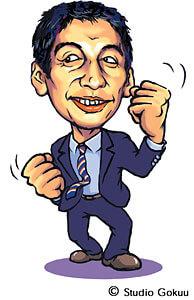 政治家似顔絵