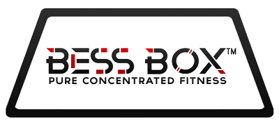 BESS Box logo, Pure Concentrated Fitness
