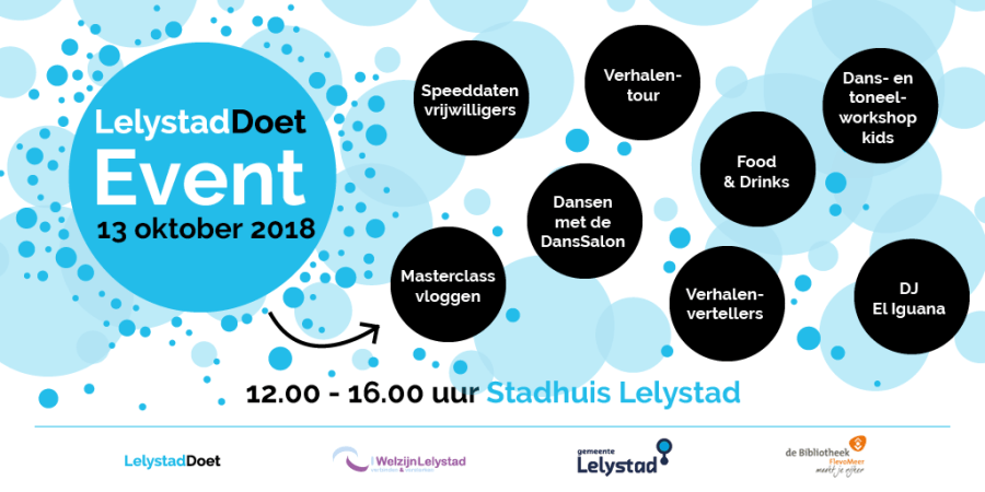 flyer event LelystadDoet
