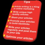 Online Article Marketing: Market Your Website With Articles To Succeed!