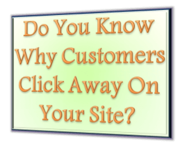 customers click away