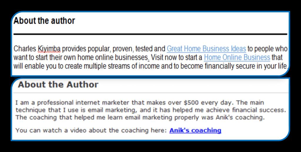 article resource box