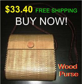 living hinge wood bags