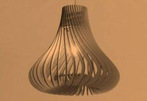Gourd Shaped Lampshade