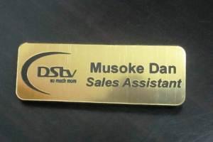 Company Name Tags
