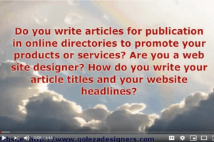 Article Videos: Benefits Of Converting Your Articles Into Videos