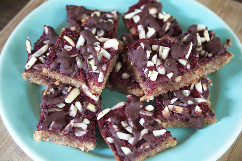 Raspberry Almond Squares_7_Gold&Thyme