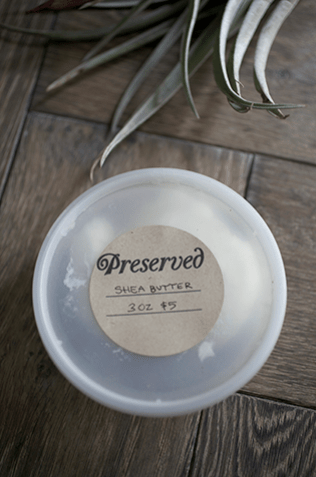 Lavender Infused Shea Butter_2_Gold&Thyme
