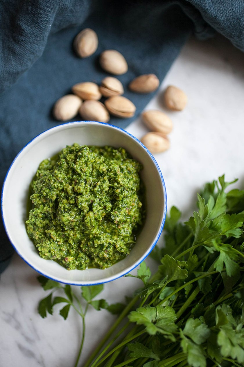 Pistachio + Parsley Pesto_5_Gold&Thyme