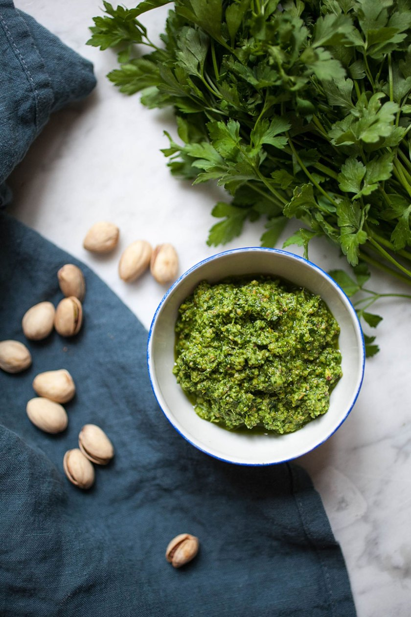 Pistachio + Parsley Pesto_2_Gold&Thyme