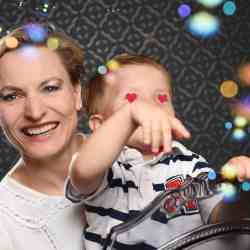 Isabell Goldberg und Sohn