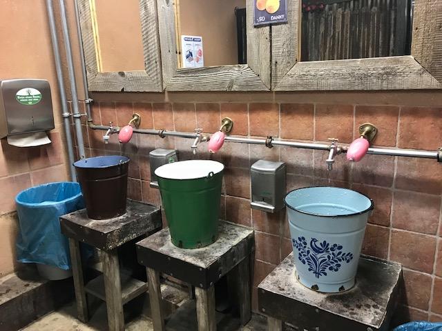 Waschgelegenheiten in Karls Erlebnisdorf