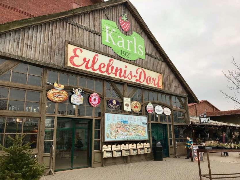 Eingang von Karls Erlebnisdorf in Rövershagen