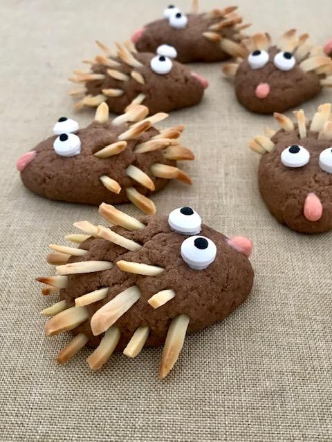 Igel-Kekse mit Füllung