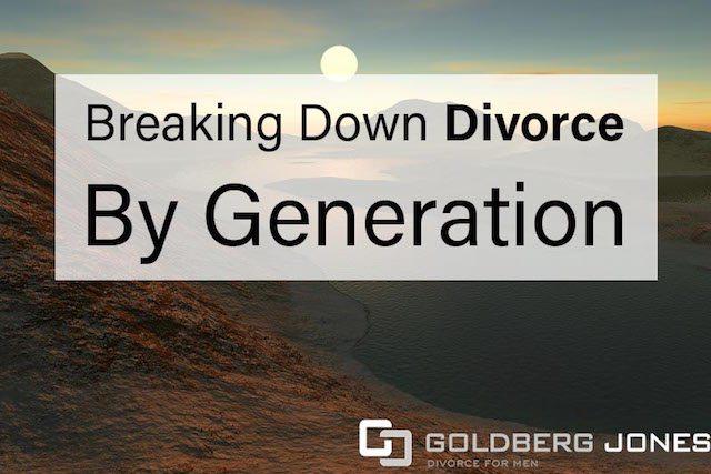 divorce by generation