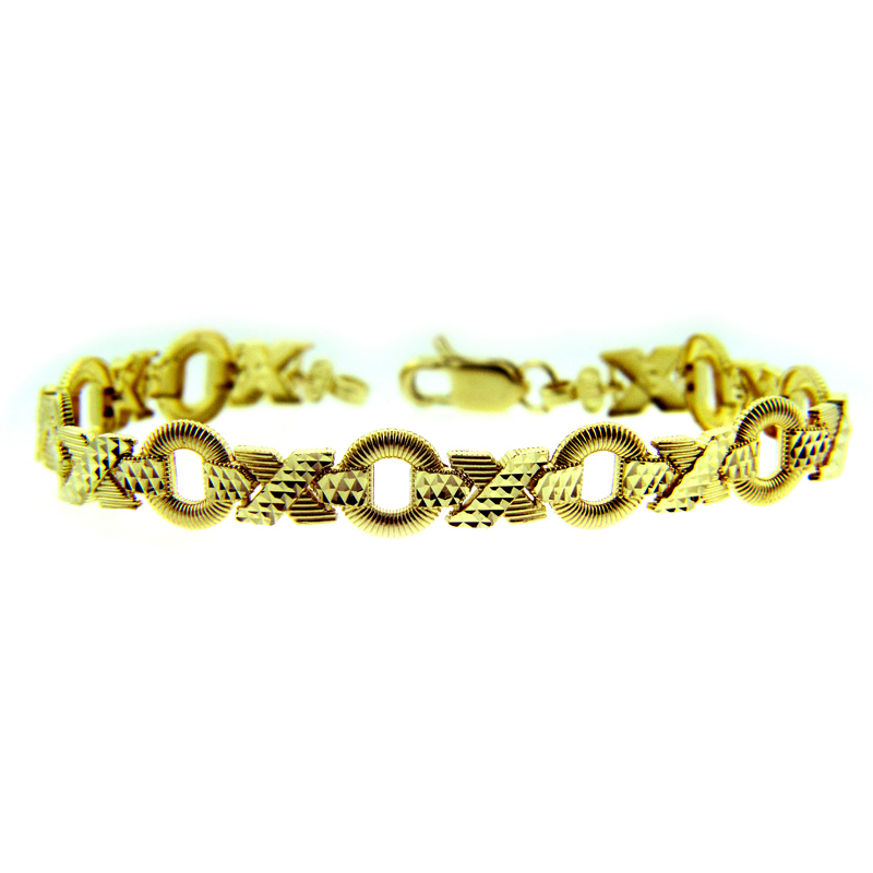 XOXO Bracelet in 9ct Gold