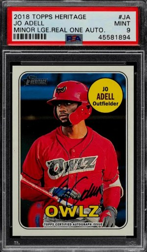 best jo adell rookie cards topps