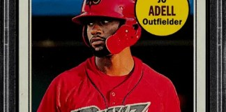 Jo Adell Topps rookie card
