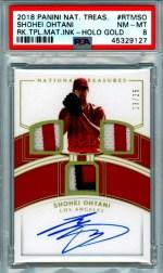 Shohei Ohtani rookie card checklist