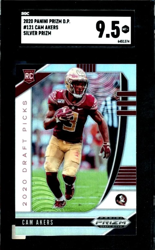 Cam Akers Rookie Card