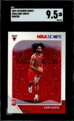 Coby White Rookie Card Checklist