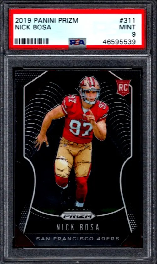 Nick Bosa rookie card
