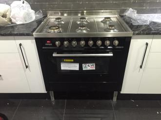 Ilve gas stove install