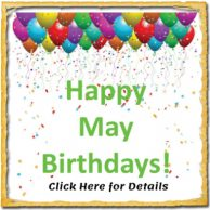 Happy May Birthdays