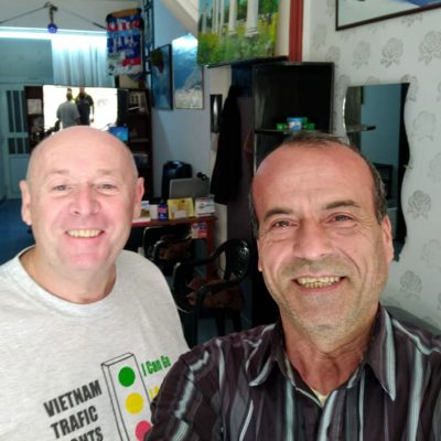 RUG GETS HAIR CUT IN CYPRUS