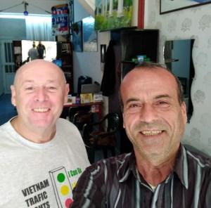 RUG GETS HAIR CUT IN CYPRUS