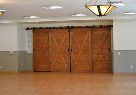 beautiful barn doors in love building