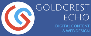 Goldcrest Echo Digital Content Web Design