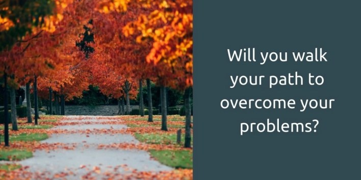 goldcrest hypnotherapy - will you walk your path to overcome your problems