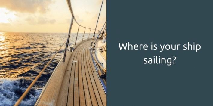 power of unconscious mind ship sailing