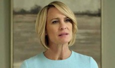 Golden Globes mystery: Will Robin Wright receive goodbye hug for 'House of Cards' final season?