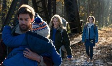 'A Quiet Place' interviews: John Krasinski, Emily Blunt and more exclusive chats [WATCH]