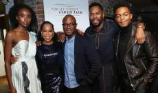 'If Beale Street Could Talk' shined for Regina King and Stephan James at NYC holiday party