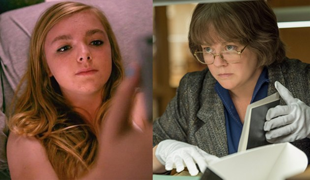 Elsie Fisher, Eighth Grade; Melissa McCarthy, Can You Ever Forgive Me?