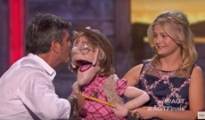 'America's Got Talent: The Champions' finale: Simon makes up (and makes out!) with Darci Lynne's naughty puppet Edna [WATCH]