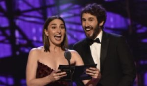 Maybe this time they'll win: Sara Bareilles and Josh Groban may grab 2 Emmys for singing about being awards losers