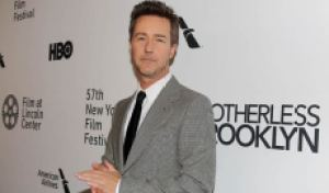 Edward Norton ('Motherless Brooklyn') was 'scared' to write, direct, produce and star, but Warren Beatty convinced him to do it [WATCH]