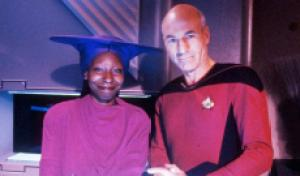 Guinan back on 'Star Trek: Picard'? Patrick Stewart asks Whoopi Goldberg to make it so [WATCH]
