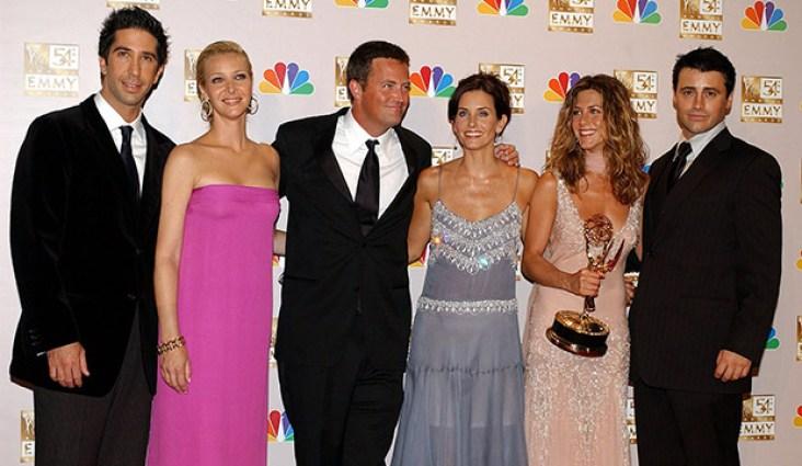 Friends reunion: Watch the show's Emmy win - GoldDerby