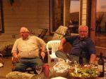 Sarge and Joe Dahlen At Bill and Jan's