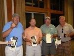 Bill Walker, Ken Hibbard, Sarge Preston and Joe Dahlen - Second Place